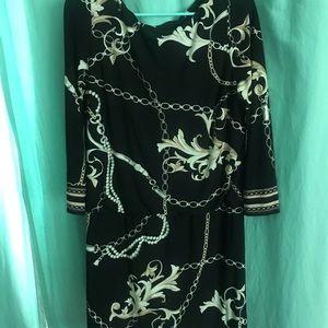White House Black Market Chain dress